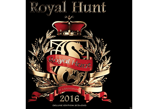 Royal Hunt - 2016 (Ltd.2CD+DVD Digipak) - (CD + DVD Video)
