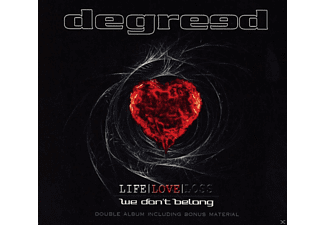 Degreed - Life Love Loss/We Don't Belong (Ltd.2-CD Digi) - (CD)