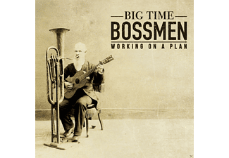 Big Time Bossmen - Working On A Plan - (CD)