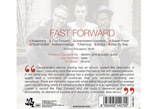 Federico Casagrande, Joe Sanders, Ziv Ravitz - Fast Forward - (CD)