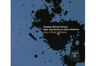 Nicolas Simion Group Feat: Lee Konitz & Jancy Körössy - Live in Graz & Brasov - (CD)