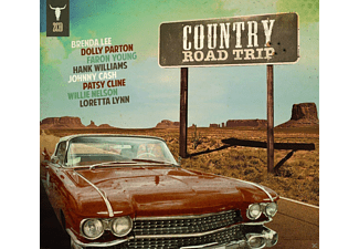 VARIOUS - Country Road Trip - (CD)