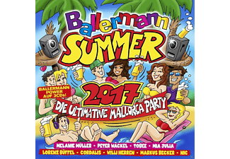 VARIOUS - Ballermann Summer 2017-Ultimative Mallorca Party - (CD)