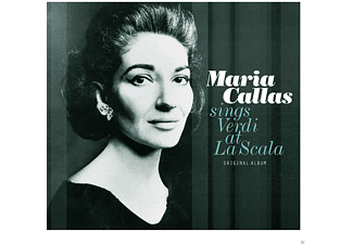 Maria Callas - Sings Verdi At La Scala - (Vinyl)