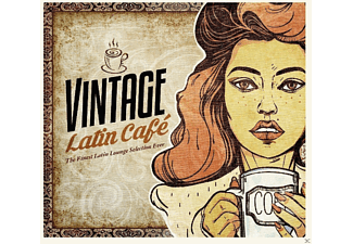 VARIOUS - Vintage Latin Cafe - (CD)