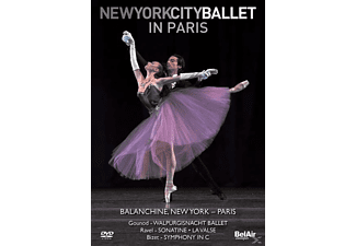 New York City Ballet in Paris - (Blu-ray)