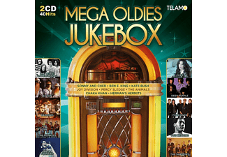 VARIOUS - Mega Oldies Jukebox - (CD)