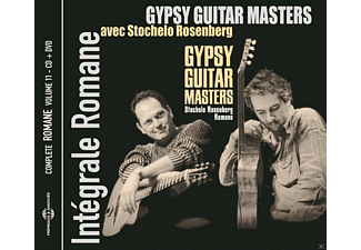 Romane, Stochelo Rosenberg - Gypsy Guitar Masters-Intégrale Romane Vol.11 - (CD + DVD Video)