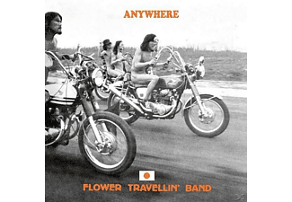 Flower Travellin' Band - Anywhere (Lim.180 Gr.Orange Hand-Numbered Vinyl) - (LP + Bonus-CD)