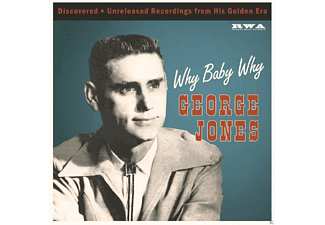 George Jones - Why Baby Why - (Vinyl)