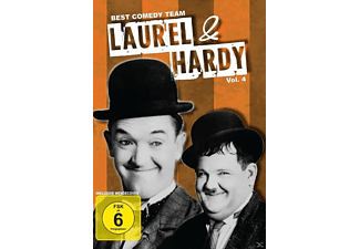 Laurel & Hardy (Dick & Doof) - Vol. 4 - (DVD)