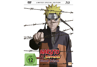 Naruto Shippuden The Movie 5 - Blood Prison (2011) (Mediabook) - (Blu-ray + DVD)