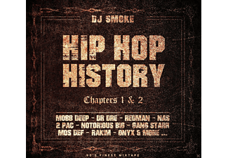Various - Hip Hop History Chapters 1 & 2 - (CD)