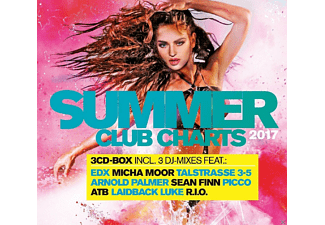 VARIOUS - Summer Club Charts 2017 - (CD)