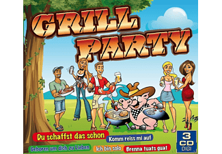 VARIOUS - Grillparty - (CD)