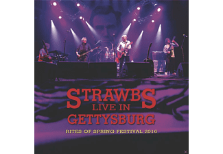 The Strawbs - LIVE IN GETTYSBURG (RITES OF SPRING FESTIVAL) - (CD + DVD Video)