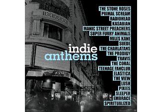 VARIOUS - INDIE ANTHEMS - (Vinyl)