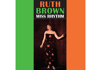 Ruth Brown - MISS RHYTHM - (CD)