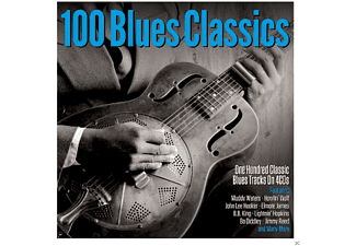 VARIOUS - 100 BLUES CLASSICS - (CD)