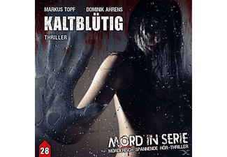 Mord in Serie 28: Kaltblütig - 1 CD - Krimi/Thriller