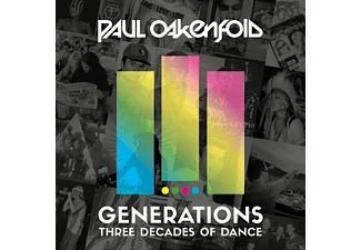 VARIOUS - GENERATIONS - THREE DECADES OF DANCE - (CD)