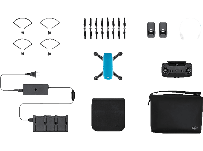 DJI Spark Sky Blue Fly More Combo hobby   φωτογραφία drones   τηλεκατευθυνόμενα drones