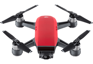 DJI Spark Lava Red Fly More Combo Drohne