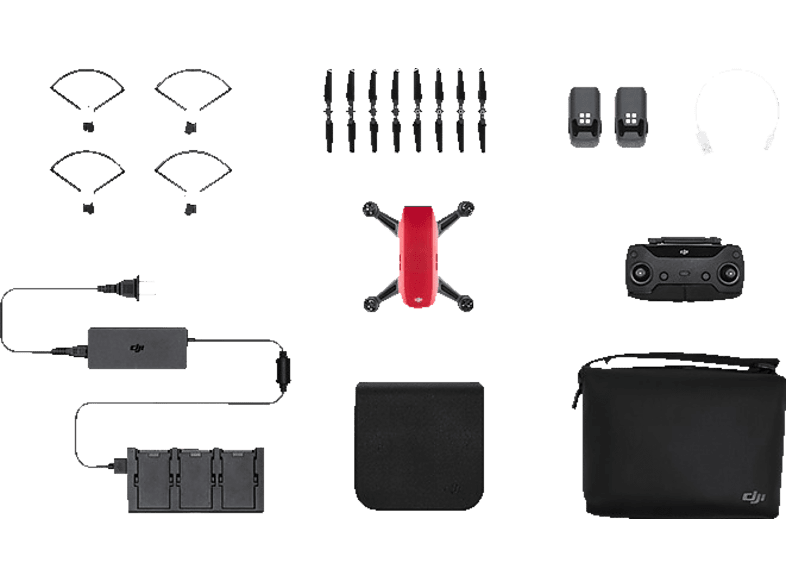 DJI Spark Lava Red Fly More Combo hobby   φωτογραφία drones   τηλεκατευθυνόμενα drones