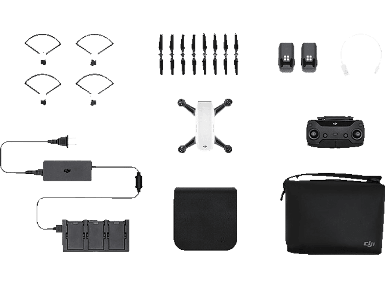 DJI Spark Alpine White Fly More Combo hobby   φωτογραφία drones   τηλεκατευθυνόμενα drones