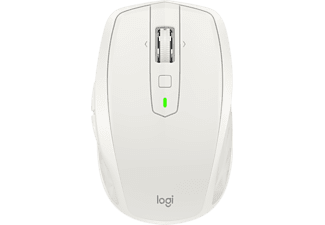 LOGITECH MX ANYWHERE 2S, Maus, Hellgrau