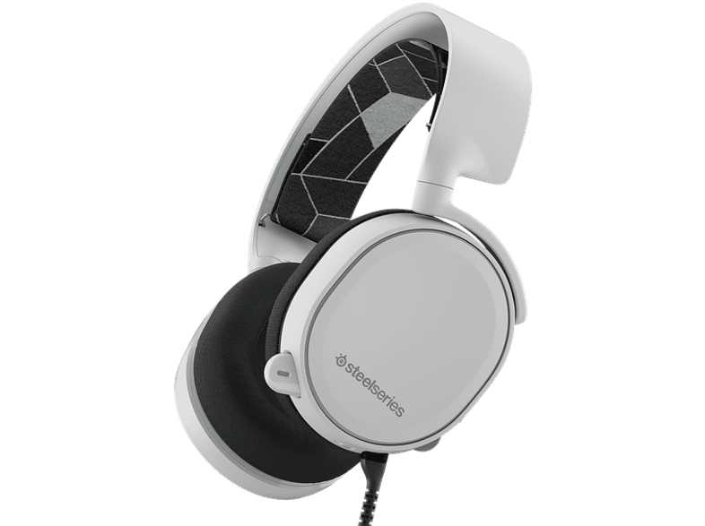 STEELSERIES Arctis 3 White gaming απογείωσε την gaming εμπειρία ακουστικά gaming