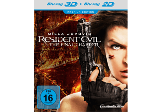 Resident Evil: The Final Chapter - (3D Blu-ray (+2D))