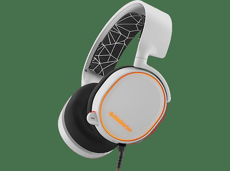 STEELSERIES Arctis 5 White gaming απογείωσε την gaming εμπειρία ακουστικά gaming