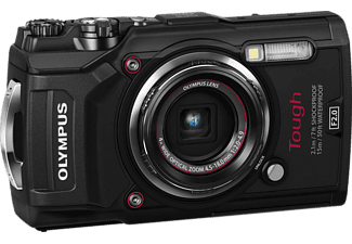 Olympus Tough TG-5 compact camera Zwart