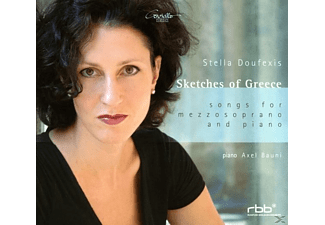 Stella Doufexis, Axel Bauni - Scetches Of Greece - (CD)