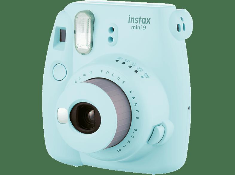 FUJIFILM Instax Mini 9 Sofortbildkamera, eisblau