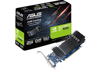 ASUS GeForce GT 1030 2GB passiv (90YV0AT0-M0NA00)( NVIDIA, Grafikkarte)
