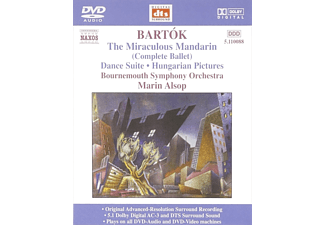 Marin Bournemouth Symphony Orchestra & Alsop - Bartók: The Miraculous Mandarin, Dance Suite, Hungarian Pict - (DVD-Audio Album)