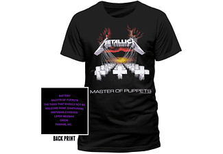 Metallica T-Shirt Master of Puppets XXL