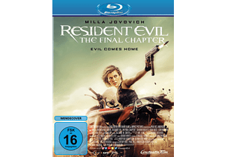 Resident Evil: The Final Chapter - (Blu-ray)