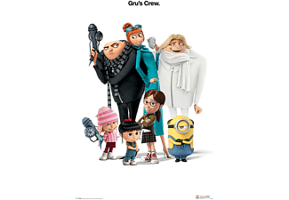 Despicable Me 3 Poster Gru's Crew