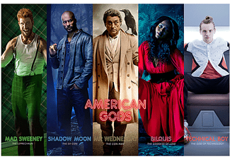 American Gods Poster Collage