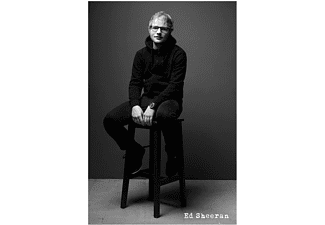 Ed Sheeran Poster Black and White