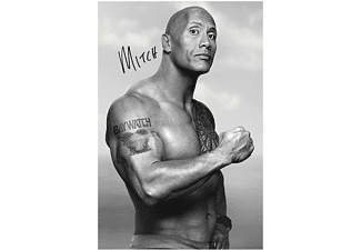 Baywatch Poster Mitch Dwayne Johnson