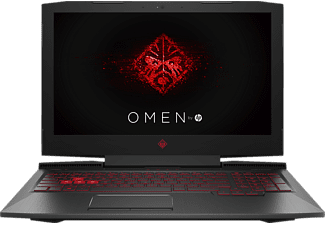 HP Omen 15-ce032ng, Gaming Notebook mit 15.6 Zoll Display, Core™ i7 Prozessor, 16 GB RAM, 256 GB SSD, 1 TB HDD, GeForce GTX 1050, Schwarz