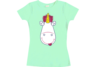 Despicable Me 3 Girlie Shirt Tongue In Cheek Unicorn XL