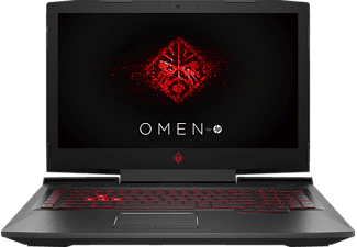 HP Omen 17-an032ng, Gaming Notebook mit 17.3 Zoll Display, Core™ i7 Prozessor, 16 GB RAM, 128 GB SSD, 1 TB HDD, GeForce GTX 1050 Ti, Schwarz