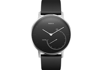 NOKIA Activité STEEL, Activity Tracker, Silikon, 195 mm, Schwarz