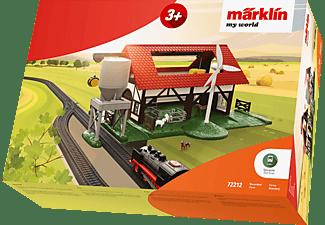 MÄRKLIN Bauernhof mit Zubehör Bausatz, Mehrfarbig