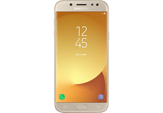 SAMSUNG GALAXY J5 (2017) DUOS GOLD, Smartphone, 16 GB, 5.2 Zoll, Gold, LTE